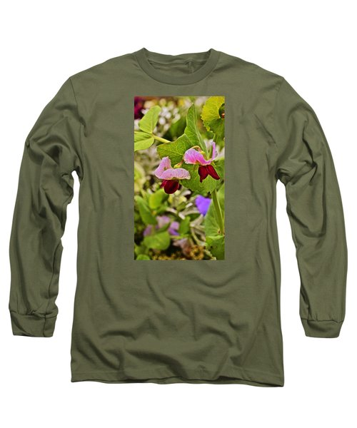 2015 Summer's Eve At The Garden Sweet Pea 2 Long Sleeve T-Shirt