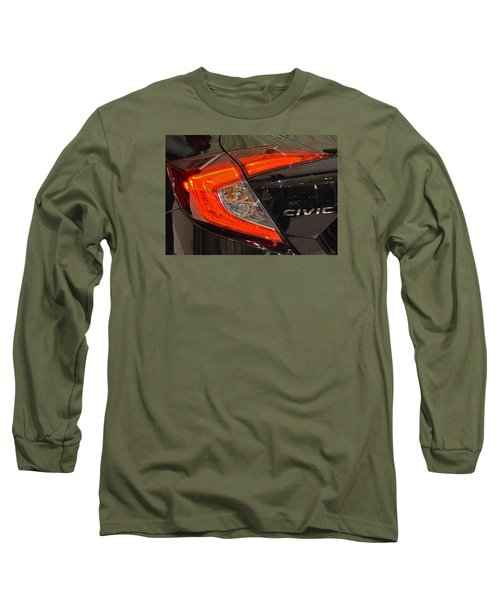 2016 Honda Civic Tail Light Long Sleeve T-Shirt