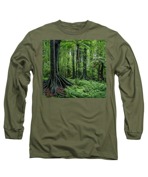 Long Sleeve T-Shirt featuring the photograph Jungle by Les Cunliffe