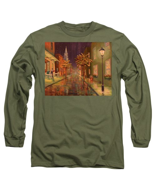 24 Hour Delivery Long Sleeve T-Shirt by Dorothy Allston Rogers