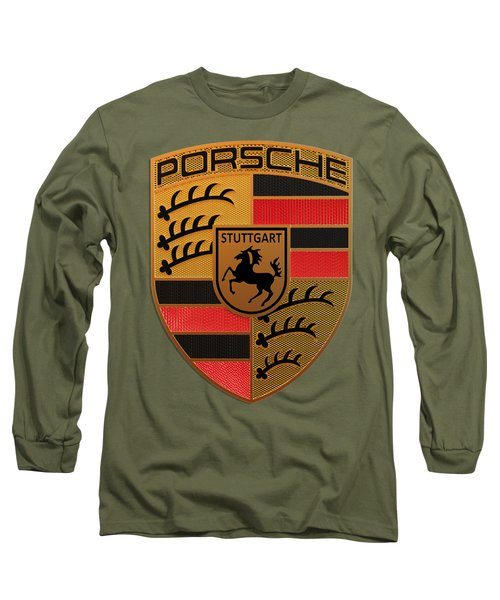 Porsche Label Long Sleeve T-Shirt