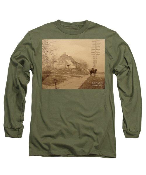 Dyckman Farmhouse  Long Sleeve T-Shirt by Cole Thompson