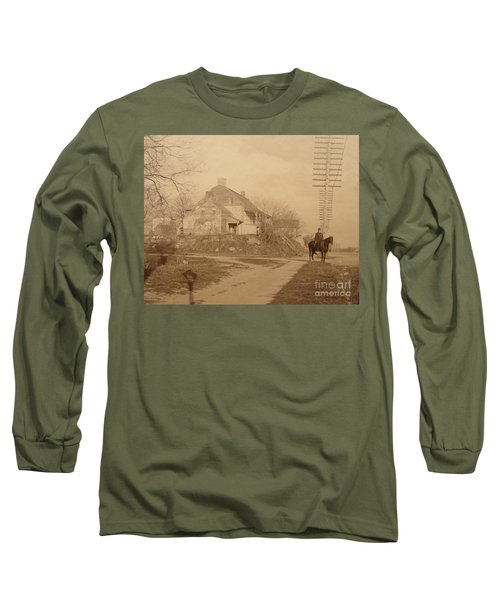 Dyckman Farmhouse  Long Sleeve T-Shirt