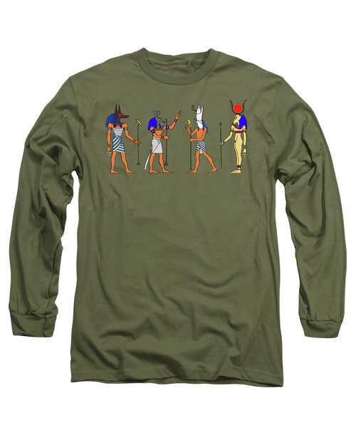Egyptian Gods And Goddess Long Sleeve T-Shirt