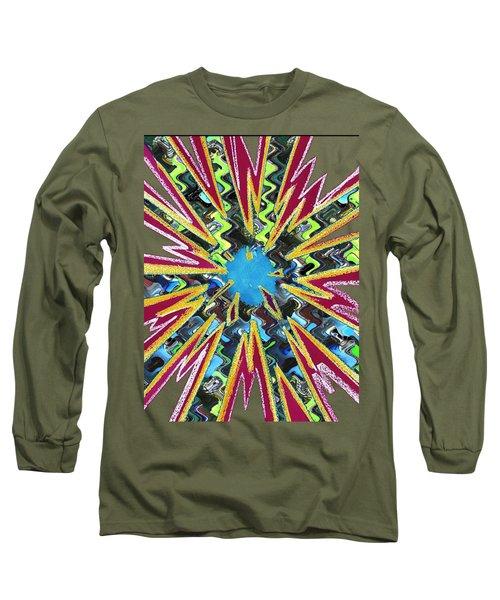 Goodluck Star Sparkles  Long Sleeve T-Shirt