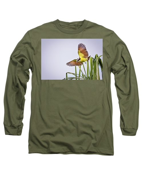 Great Crested Flycatcher Long Sleeve T-Shirt