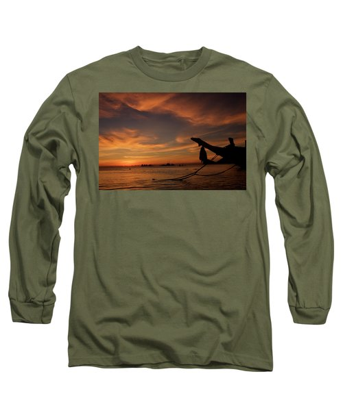 Koh Tao Island In Thailand Long Sleeve T-Shirt by Tamara Sushko