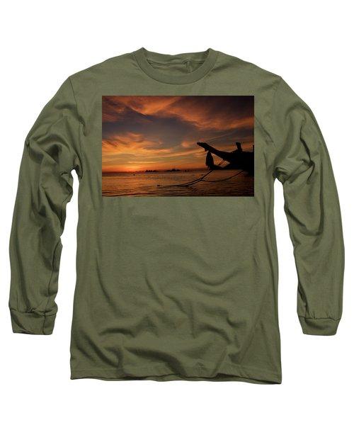Koh Tao Island In Thailand Long Sleeve T-Shirt