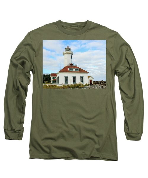 Point Wilson Lighthouse Long Sleeve T-Shirt