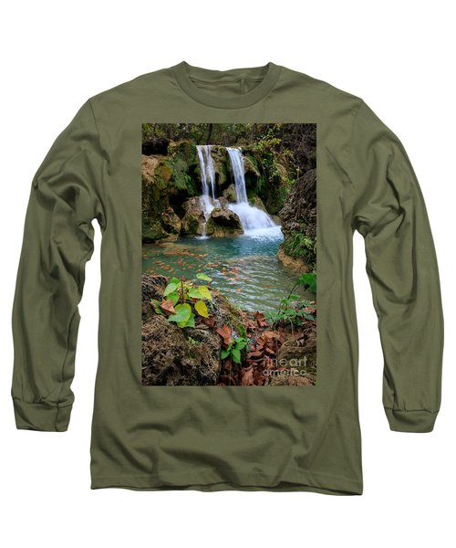 Price Falls In Autumn Color.  Long Sleeve T-Shirt