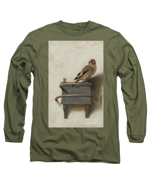 The Goldfinch Long Sleeve T-Shirt