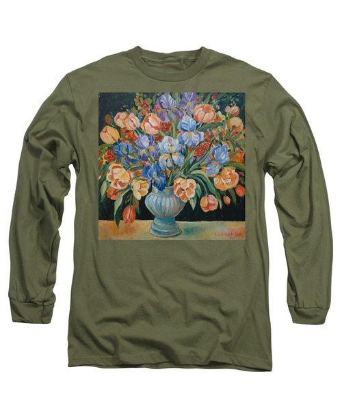 Tulips Long Sleeve T-Shirt by Alexandra Maria Ethlyn Cheshire