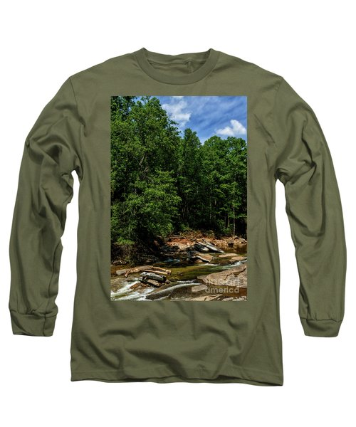 Long Sleeve T-Shirt featuring the photograph Williams River After The Flood by Thomas R Fletcher