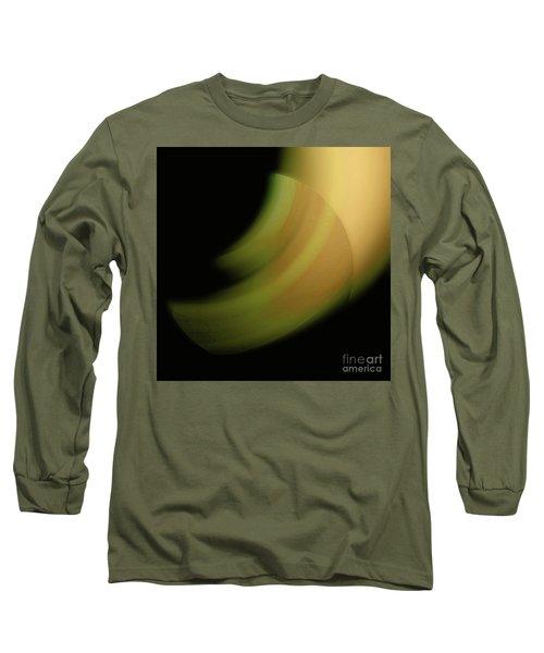 Long Sleeve T-Shirt featuring the digital art 3000 2017 by John Krakora