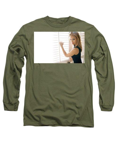 30511 Jessica Alba Long Sleeve T-Shirt