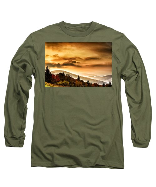 Allegheny Mountain Sunrise #33 Long Sleeve T-Shirt