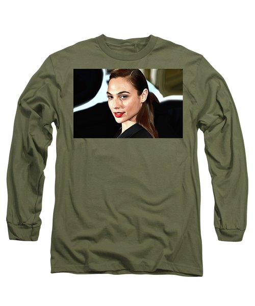 Gal Gadot Print Long Sleeve T-Shirt