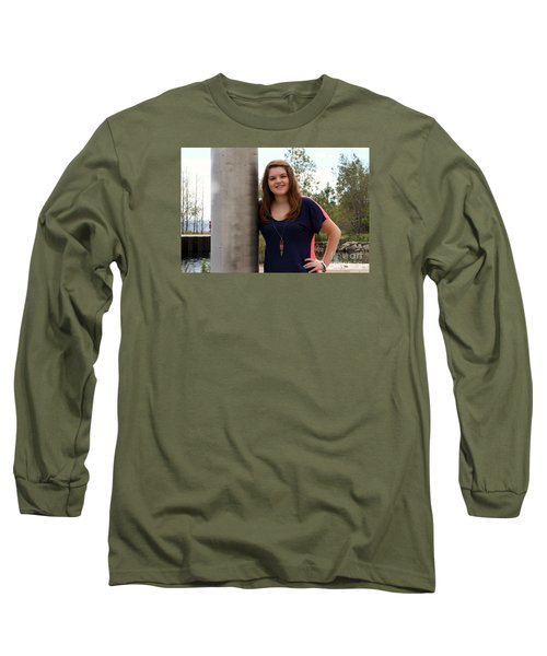 3674 Long Sleeve T-Shirt by Mark J Seefeldt