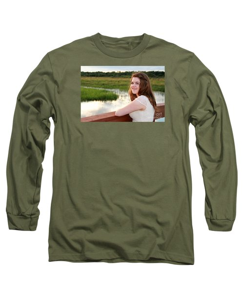 3734 Long Sleeve T-Shirt by Mark J Seefeldt