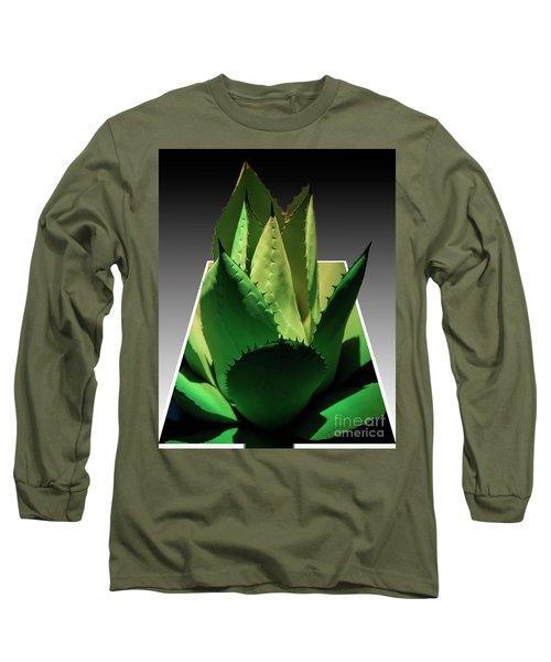 3d Cactus Long Sleeve T-Shirt