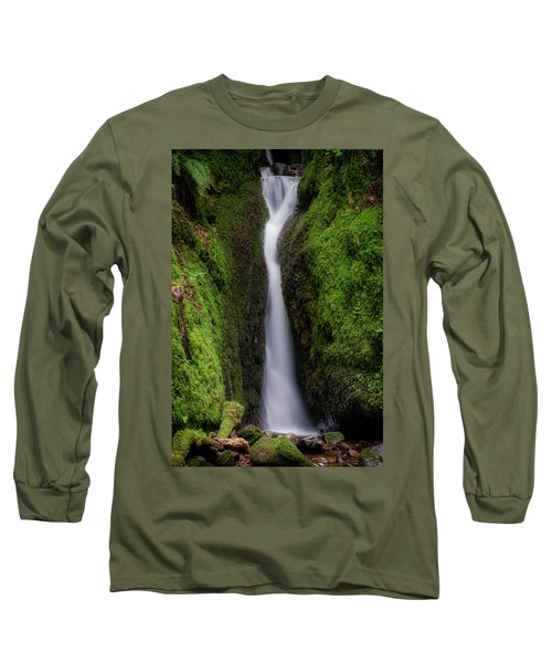 Long Sleeve T-Shirt featuring the photograph Dollar Glen In Clackmannanshire by Jeremy Lavender Photography