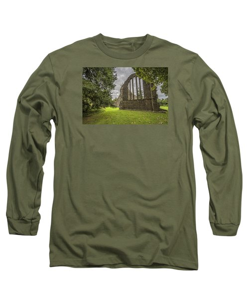 Inchmahome Priory Long Sleeve T-Shirt by Jeremy Lavender Photography