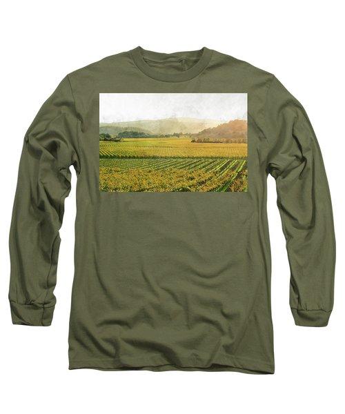 Napa Valley California In Autumn Long Sleeve T-Shirt