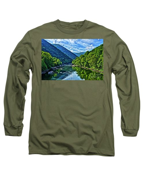 New River Gorge National River Long Sleeve T-Shirt