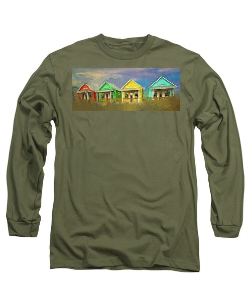 Long Sleeve T-Shirt featuring the digital art 4 Of A Kind by Dale Stillman