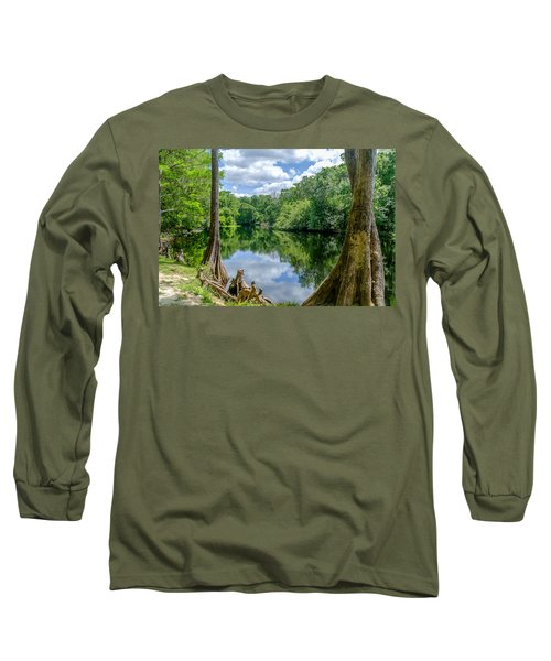 Long Sleeve T-Shirt featuring the photograph Reflections by Louis Ferreira