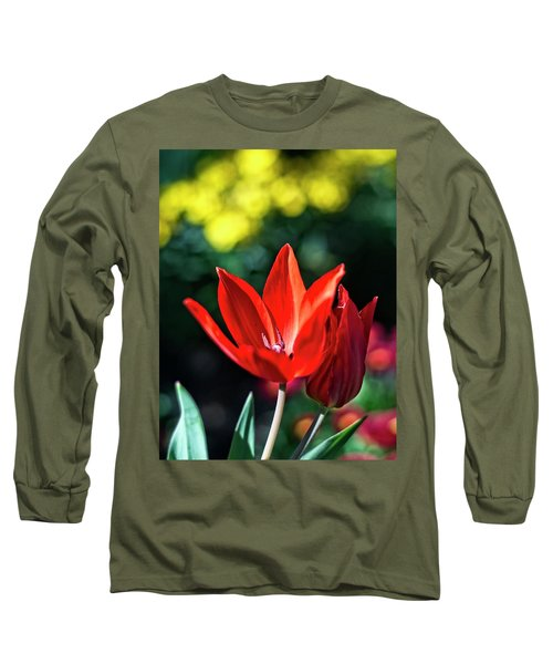 Spring Garden Long Sleeve T-Shirt