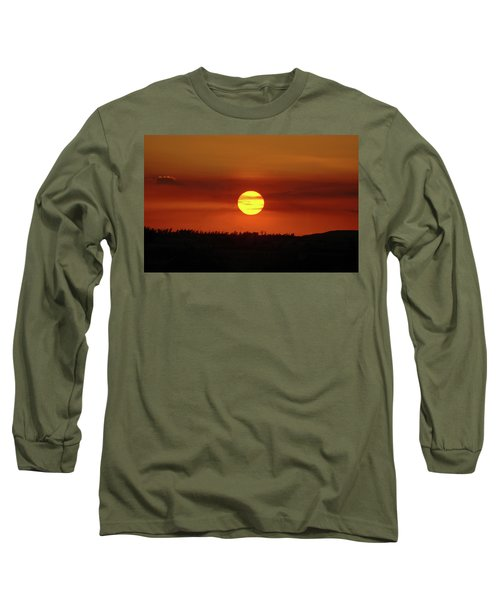 Long Sleeve T-Shirt featuring the photograph 4- Sunset by Joseph Keane