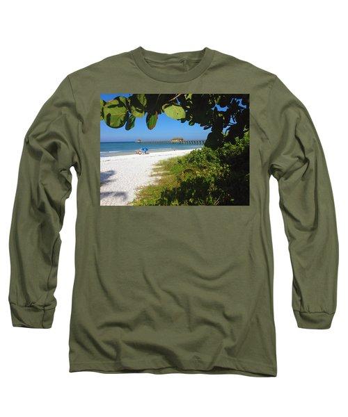 The Historic Naples Pier Long Sleeve T-Shirt