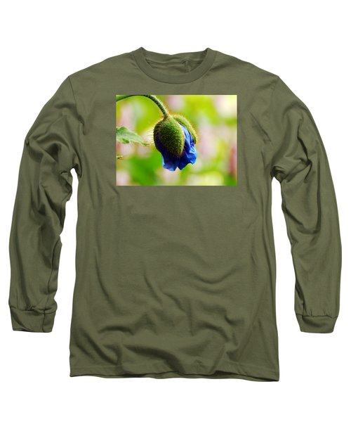 Waiting Long Sleeve T-Shirt by Zinvolle Art