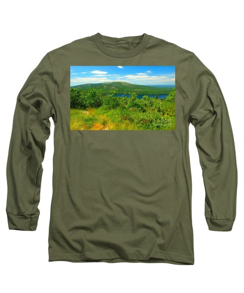 White Mountain's  Long Sleeve T-Shirt by Raymond Earley