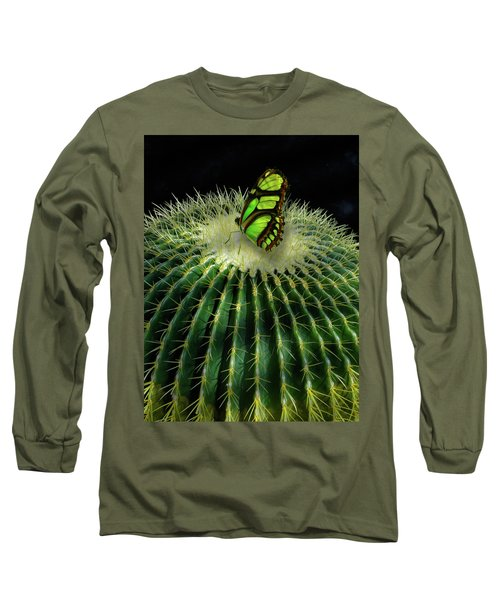 Long Sleeve T-Shirt featuring the photograph 4409 by Peter Holme III