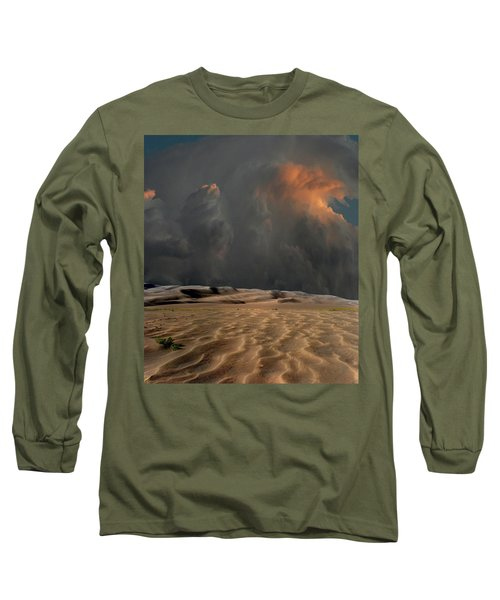 Long Sleeve T-Shirt featuring the photograph 4450 by Peter Holme III