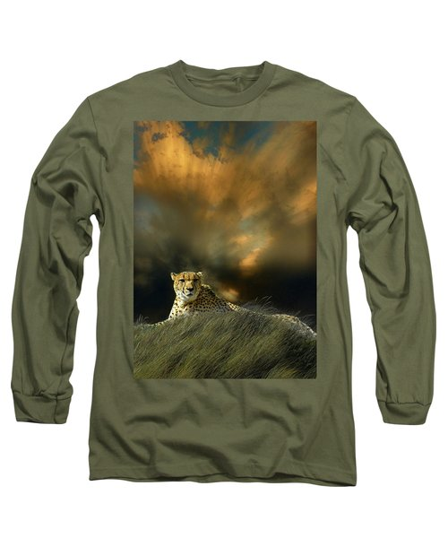 Long Sleeve T-Shirt featuring the photograph 4452 by Peter Holme III