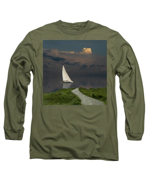 Long Sleeve T-Shirt featuring the photograph 4456 by Peter Holme III