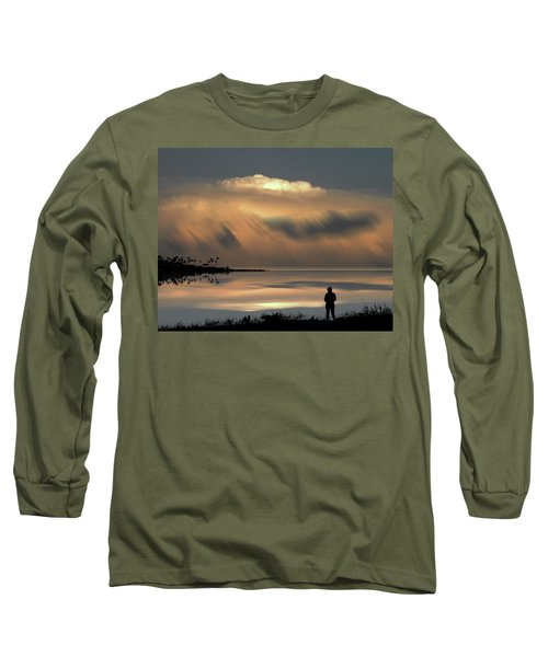 Long Sleeve T-Shirt featuring the photograph 4459 by Peter Holme III