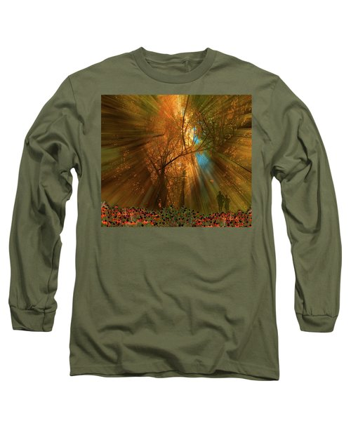 Long Sleeve T-Shirt featuring the photograph 4478 by Peter Holme III