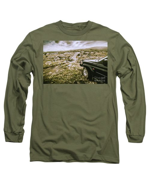 4wd On Offroad Track Long Sleeve T-Shirt