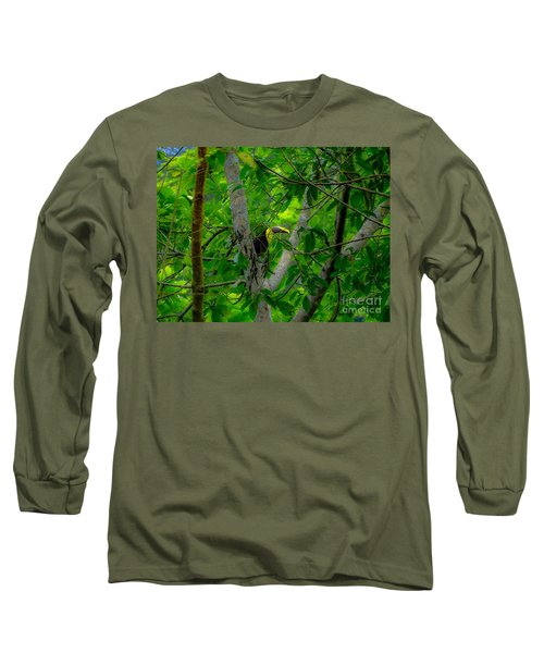Chestnut-mandibled Toucan Long Sleeve T-Shirt