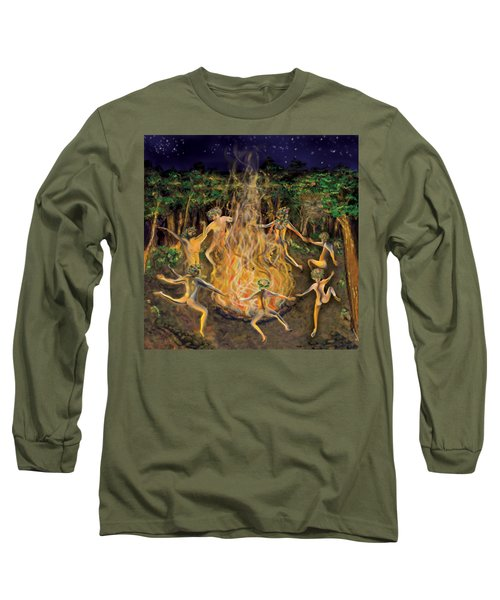 Dancing Naked In The Forest Cd Cover Long Sleeve T-Shirt