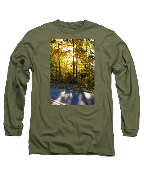 Long Sleeve T-Shirt featuring the photograph Fall Color Virginia West Virginia by Kevin Blackburn