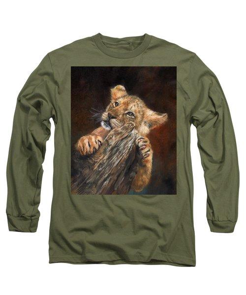 Lion Cub Long Sleeve T-Shirt