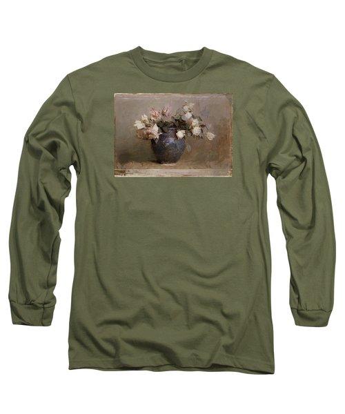 Roses Long Sleeve T-Shirt by Abbott Handerson Thayer
