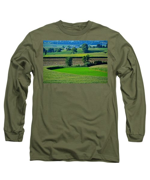 50 Shades Of Green Long Sleeve T-Shirt