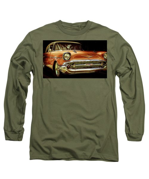 55 Chevy Long Sleeve T-Shirt