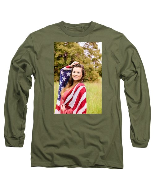 5631-2 Long Sleeve T-Shirt by Teresa Blanton